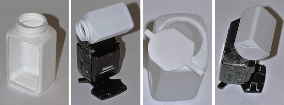 Diffuseur Sto-Fen omnibounce pour le Flash Nikon SB-600