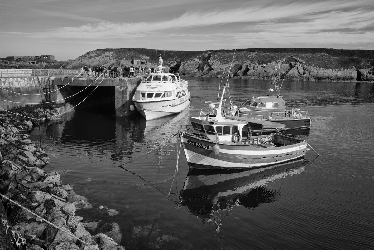 Le Conquet : port