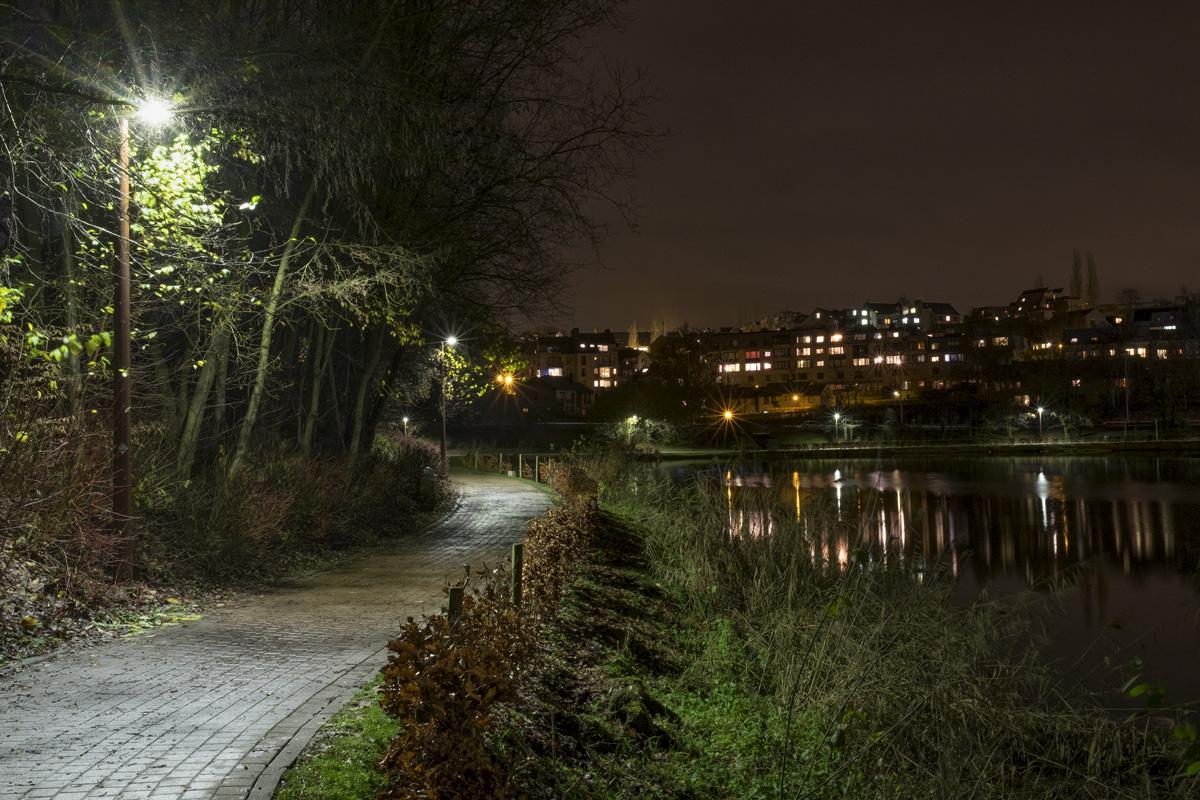 Louvain-la-neuve - Rêverie du promeneur solitaire