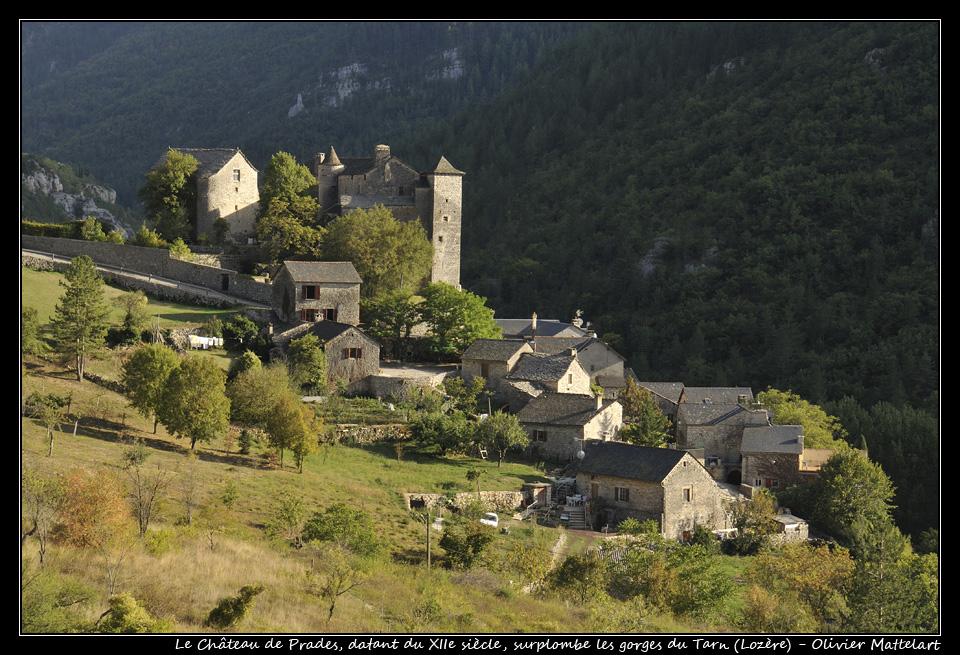 Le château de Prades