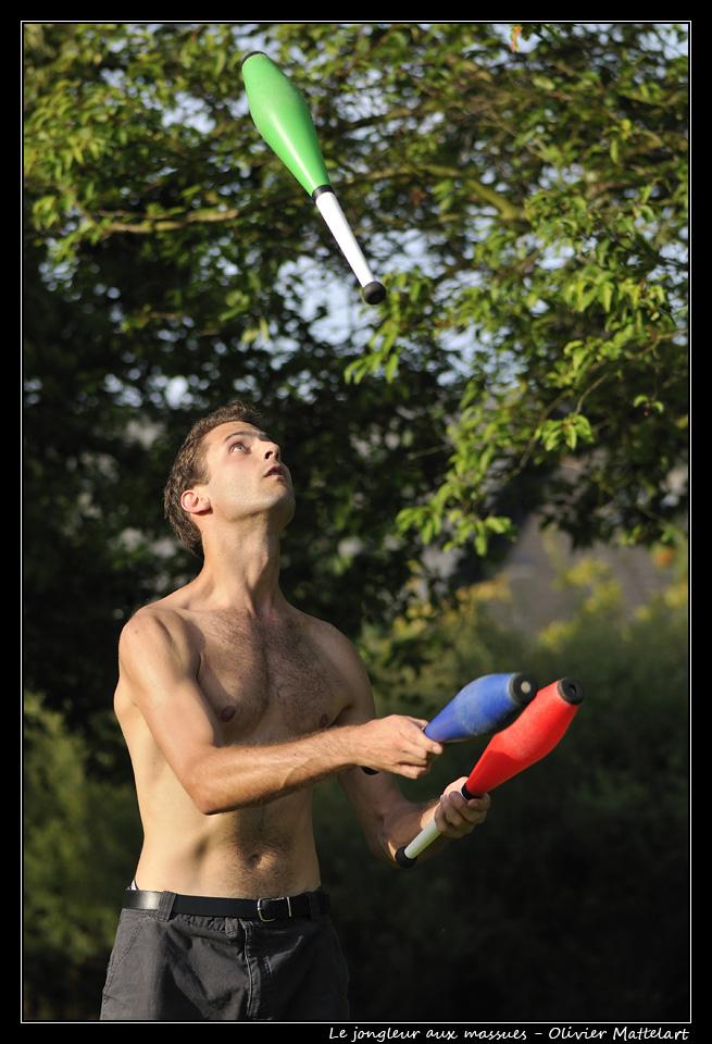 Jeune jongleur