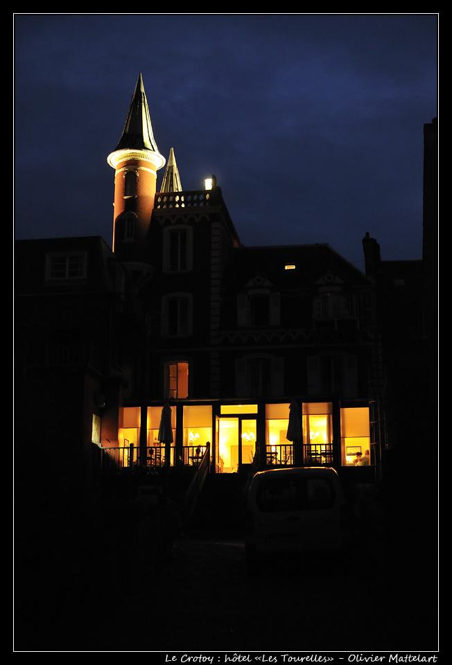 """Le Crotoy : hôtel """"Les Tourelles"""""""
