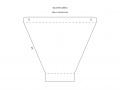 Flash diffuser for Godox TT350o (v. 2019) - External part of the softbox